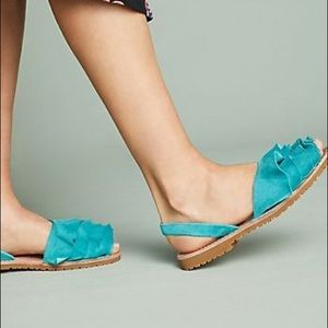Anthropologie x Seychelles Peace of Mind Sandals